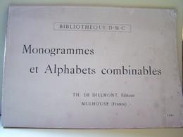 LA COUTURE. LES TRAVAUX D'AIGUILLES. MONOGRAMMES ET ALPHABETS COMBINABLES.   100_6395  6/06HOR. - Bricolage / Technique