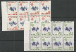 8x MONACO - MNH - Europa-CEPT - Europa-CEPT