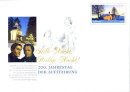 Deutschland GS '200 J. Weihnachtslied Stille Nacht' / Germany PSE 'Bicent. Of Christmas Carol Silent Night' **/MNH 2018 - Musik