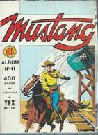 MUSTANG  Reliure N° 41 ( N° 122 + 123 + 124   - LUG  1986 - Mustang