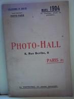 "CATALOGUE ILLUSTRE ""PHOTO=HALL.    100_6394TRC""a"" - Photographie"