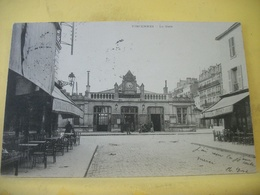 L11 5003 CPA ORIGINAL 1903 - 94 VINCENNES. LA GARE - ANIMATION. COMMERCES - Gares - Sans Trains