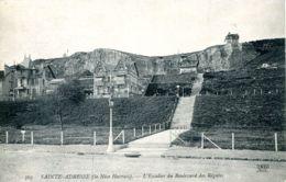 N°67792 -cpa Sainte Adresse- Nice Havrais -l'escalier Du Boulevard Des Régates- - Sainte Adresse