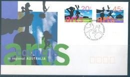 AUSTRALIA  - FDC - 12.9.1996 - ART COUNCILS - Yv 1564-1565 - Lot 18627 - Premiers Jours (FDC)