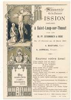 Image Pieuse - SAINT LOUP SUR THOUET (79) - Souvenir De La Mission 1901 - Devotion Images