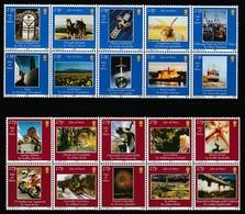 ILE De MAN - N° 1023/32+1033/42 ** (2002) Photographies - Man (Ile De)