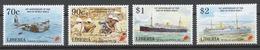 Liberia 1995 Mi# 1619-22** END OF WORLD WAR II, 50th ANNIV. - Liberia