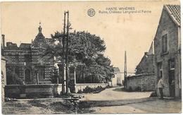 Hante Wihéries NA2: Ruine, Château Lengrand Et Ferme - Erquelinnes