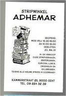 Kaart Stripwinkel Adhmear (Sleen) - Books, Magazines, Comics