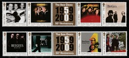 ILE De MAN - N°1572/9 ** (2009) Les Bee Gees - Man (Ile De)