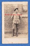 CPA Photo - Front à Situer - Beau Portrait Du Poilu Antoine Désiré , 158e Régiment ? Chasseurs ? - 1915 -voir Uniforme - Guerre 1914-18