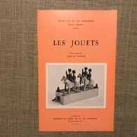 LES JOUETS MUSEE DE LA VIE WALLONNE LIEGE 1962 - Belgique