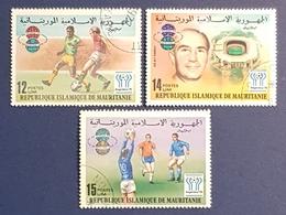 1977 Football World Cup, Argentina 1978, Republique Islamique De Mauritanie, Used - Mauritania (1960-...)