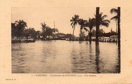 Dahomey. Inondations De Cotonou. Une Avenue.. - Benin