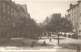 GENEVE - PLACE DE LONGEMALE - FORMATO PICCOLO - (rif. A26) - GE Ginevra