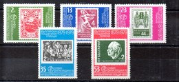 Serie De Bulgaria N ºYvert 2432/36 (**) Valor Catálogo 5.0€ - Bulgaria