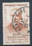 France- Henri Bergson YT 1225 Obl. - France