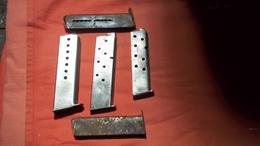 Lot Anciens Chargeur 7.65 Et 9mm Dans Leurs Jus  ((( Neutralisé Voir Photos ))) Pour Déco - Armes Neutralisées