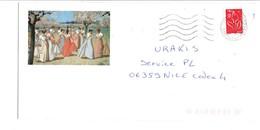 ENVELOPPE DECOREE/TOURISTIQUE DANSE PRINTANIERE EN PROVENCE PEINTURE DE LEO LELEE - 1961-....