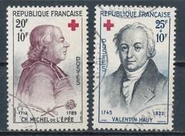 France- Croix-Rouge 1959 YT 1226-1227 Obl. - France