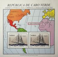 Cape Verde 1987 Ships S/S - Cape Verde