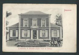 Beaumont. Habitation De Monsieur Dufour (Route De Chimay) Animée. - Beaumont