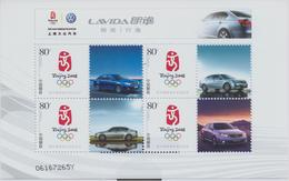 China, Olympiade 2008, Klbg Autos ** - Sommer 2008: Peking