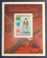 1976 Airmail, The 200th Anniversary Of Indenpendence Of The USA, Republique Islamique De Mauritanie, Used - Mauritanie (1960-...)
