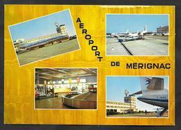 AEROPORT DE BORDEAUX - MERIGNAC 1980 AIRPORT - Aerodromi
