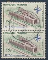 France- Palais De L'OTAN YT 1228 Paire Verticaleobl. - France