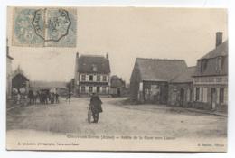 02 - COUCY-LES-EPPES - SORTIE DE LA GARE VERS LIESSE - BEAU CACHET AMBULANT - VOIR ZOOM - France