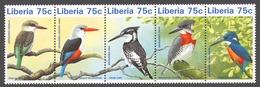 Liberia 1996 Mi# 1796-00** BIRDS - Liberia
