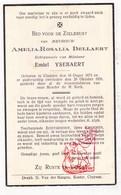 DP Amelia R. Dellaert ° Kluizen Evergem 1873 † 1939 X Emiel Ysebaert - Images Religieuses