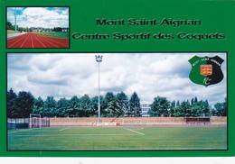 CARTE DE STADE DE. MONT SAINT AIGNAN   *76* FRANCE  CENTRE SPORTIF DES COQUETS    # DGC.54 - Football
