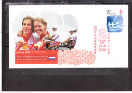Chine/China - Jeux Olympiques De Pekin 2008 - Marit Van Eupen - Kirsten Van Der Kolk - Aviron - 1949 - ... Volksrepublik