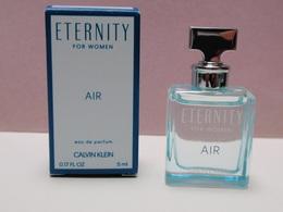 NEW 2018!!!! MINIATURE Eau De Parfum ETERNITY For Women AIR Calvin KLEIN 5 Ml - Modern Miniatures (from 1961)