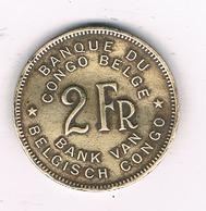 2 FRANC 1946  BELGISCH CONGO /8596/ - 1945-1951: Régence
