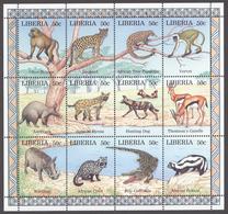 Liberia 1997 Mi# 1807-18** WILDLIFE - Liberia