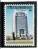 Turkmenistan. Definitive 2005 (Building).blue.1v: M, S/adh   Michel # 186 - Turkménistan