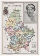 ° LUXEMBOURG ° S.A.R. La GRANDE DUCHESSE CHARLOTTE ° CARTE ° - Cartes Postales