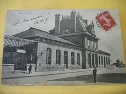 L11 4999 CPA 1908 - 93 PANTIN. LA GARE - ANIMATION. - Gares - Sans Trains