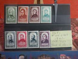Centenaire De La Révolution 1848 - N°796 à 802 (8 Val) (1948) - Coté 21,50€ - France