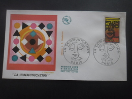 FRANCE FDC La Communication 12-06-1976 Paris - FDC