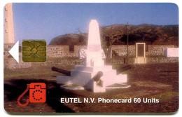 St. Eustatius - Eutel - EUS-E-06 - Orange Fort (tirage 2000) - Antillen (Nederlands)