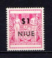 NIUE    1967    Decimal  Currency   $1  Magenta    MNH - Niue