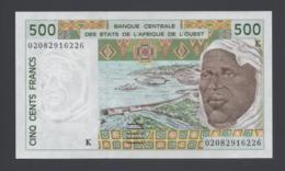 Banconota 500 Francs Senegal - Africa De L'Ovest - Sénégal