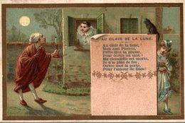 CHROMO  AU CLAIR DE LA LUNE - Kaufmanns- Und Zigarettenbilder