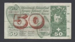 Banconota 50 Franchi - Svizzera 30/6/1967 Circolata - Suisse