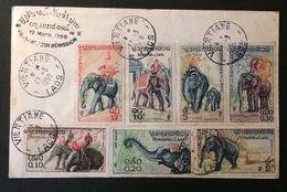 LAOS  FDC 17-03-1958 - Laos