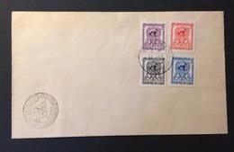 LAOS  FDC 14-12-1956 - Laos